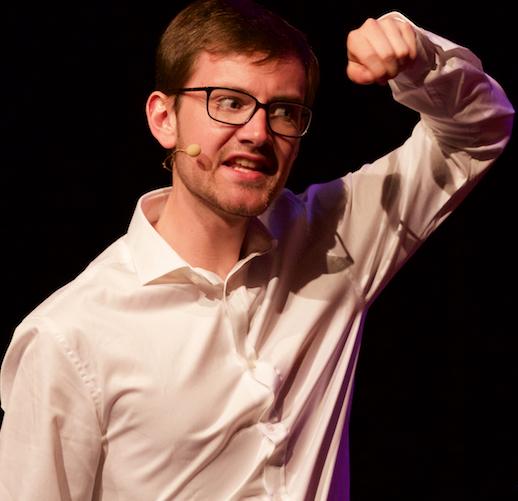 De Jonge Sprekers - Bram Thomassen boeken als jonge spreker